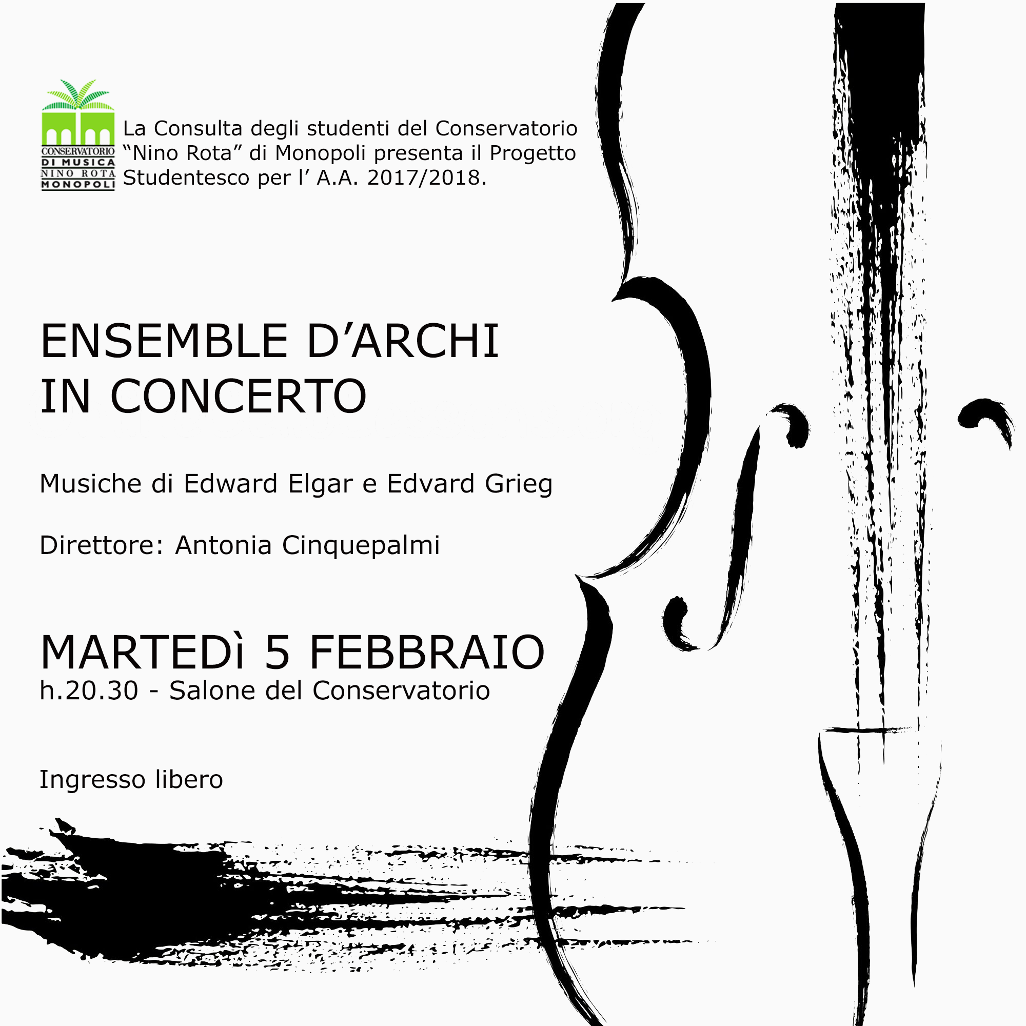 Ensemble darchi in concerto